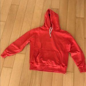 J. Crew vintage fleece hoodie